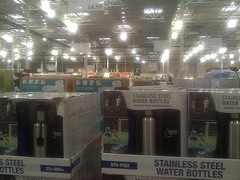 Water bottles - stainless steel - at Costco
