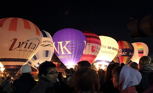 Bristol Balloon Fiesta Nightglow 2010