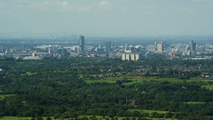 Greater Manchester Panorama (deanhammersley) Tags: uk sky buildings manchester hotel centre cities hilton views tall cis trafford citycentre manchesterskyline skyscrapper manchesterwheel runcornbridge beethamtower citystadium arndaletower manchestercitycentre manchesterbuildings graeter taffordcentre manchesterpanorama