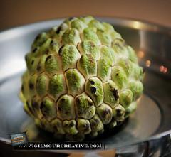 Custard Apple or Sugar Apple (GilmourCreative) Tags: food apple fruit asian nikon custard gilmour