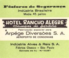 allumettes Brezil
