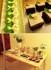 Green & Ivory Bridal Shower Dessert Table (Little House of Dreams) Tags: dessert tables