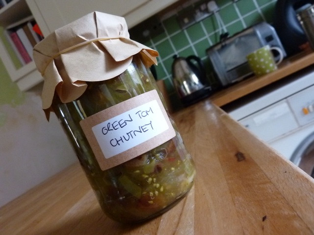 Green Tom Chutney