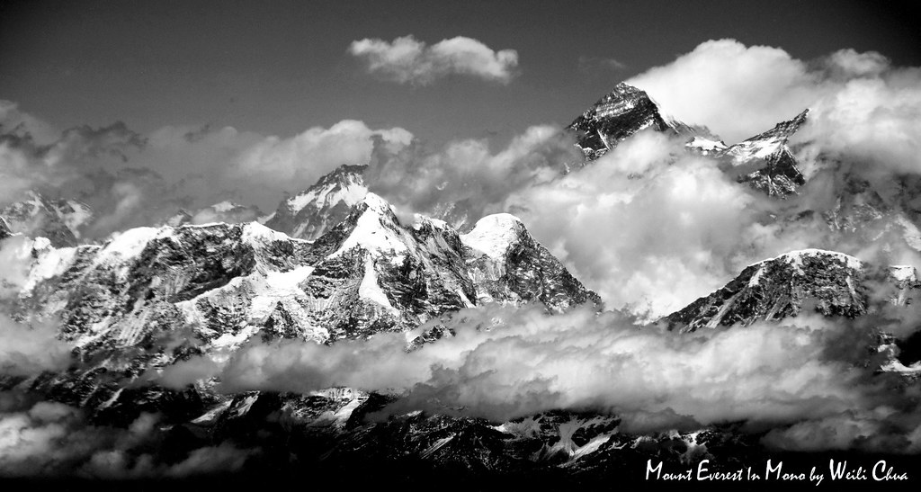 Mount Everest in Mono