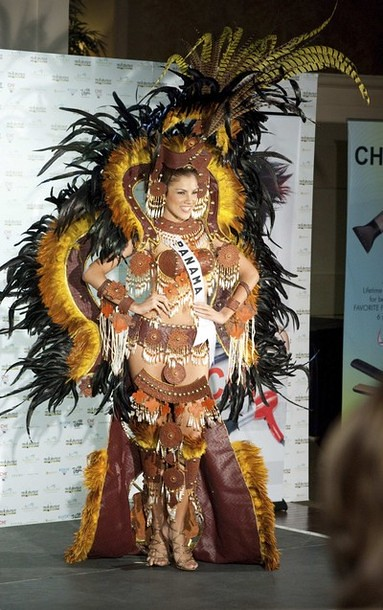 National Costume of Miss Panama