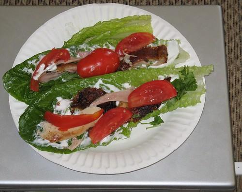Lettuce Taco boats