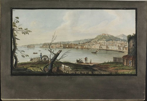 Plate 4, view of Naples from sea shore
