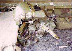 1970 - (AC-130A Spectre Gunship Combat Crew Gear) (Harvey - Ubon Spectre Veteran) Tags: thailand 1970 spectre gunship ubol ubon rtafb 16thsos