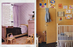 Domino Magazine (mscott218) Tags: door pink windows wallpaper closet children design bedroom interiors gallery doors purple designer interior nursery childrens curtains miles walls domino redd interiordesign playroom drapery