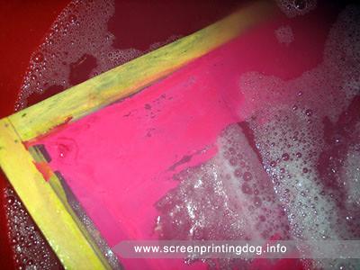 removing stencil