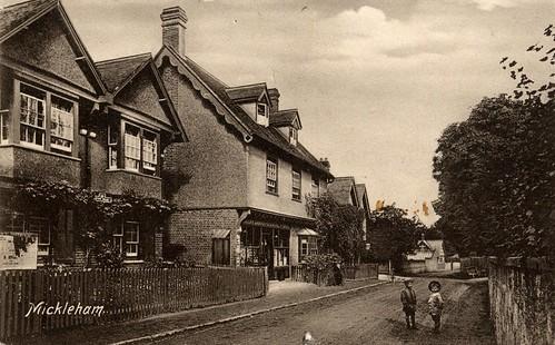 Mickleham, Surrey. 1900s.