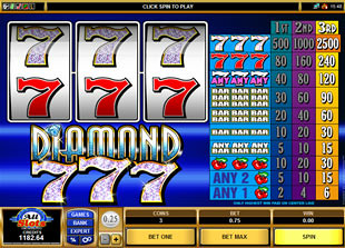 Diamond Sevens slot game online review