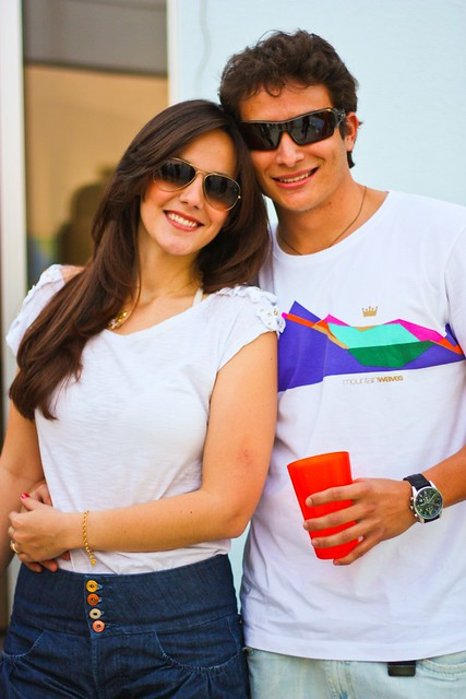 Renato e namorada