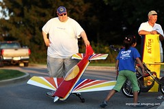 'big toy' (YC Liu Photography) Tags: sunset portrait man male men girl radio plane illinois twilight model control aircraft jets jet planes prairie remotecontrol dust naperville rc aeronautics springbrook modelaircraft wwwpropmastersrcorg