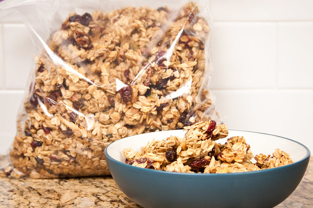 a whole gallon of granola