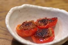 赤いハバネロの肉詰め