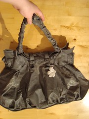 Recycled Leather (em`lia) Tags: leather vintage bag mod purse recycling hobo emlia emiliacouture