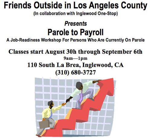 Parole to Payroll