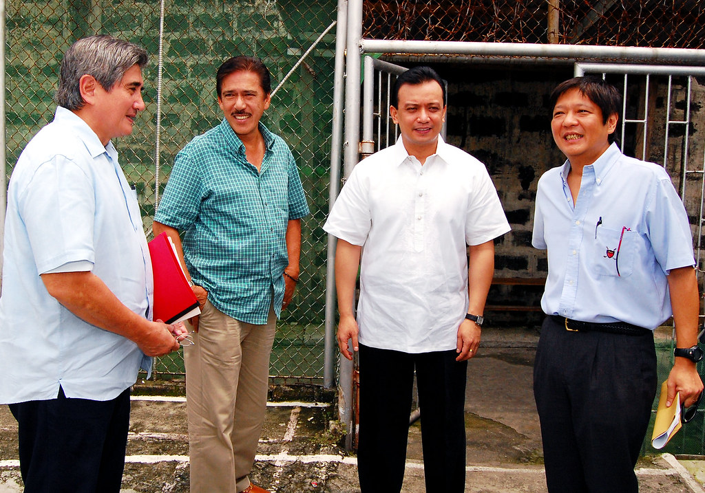 Senators : Honasan, Sotto, Trillanes and Marcos