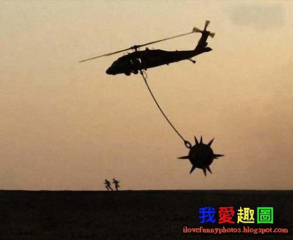 被直昇機追殺