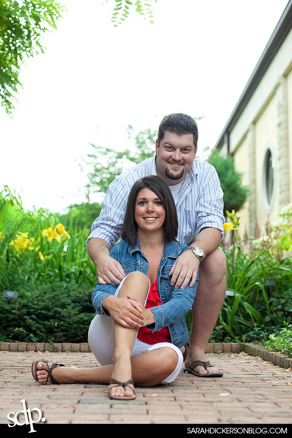 Kauffman Gardens, Kansas City Missouri engagement photos