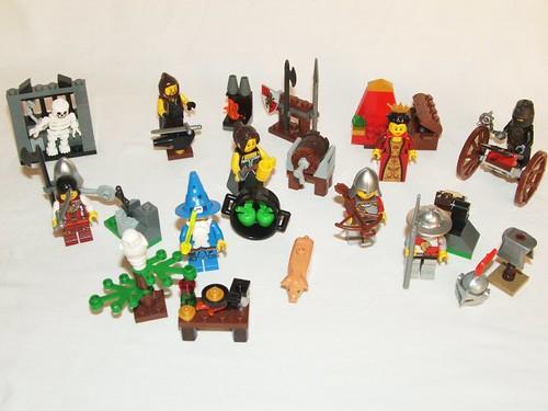 LEGO 7952 - Inventory