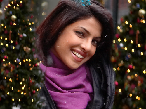 Wallpaper featuring Priyanka Chopra in the Bollywood film Anjaana Anjaani