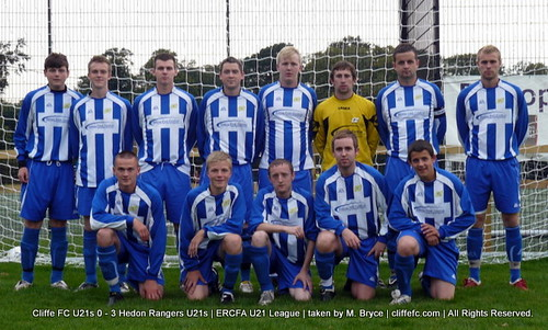 Cliffe FC U21s 0 - 3 Hedon Rangers U21s 25Aug10