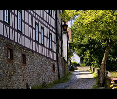 ~walk with me~ (uteart) Tags: germany altstadt halftimbered stadtmauer oberursel fachwerkhaus walkwithme utahagen bleiche mywinners uteart