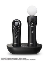 PlayStation Move Charging Station (with PlayStation Move motion controller and Navigation Controller)