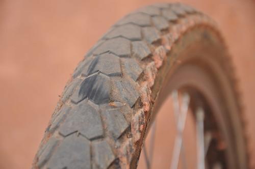 Tyre spilt