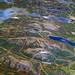 Topological map of Mount Desert Island, inside Acadia Park's Hulls Cove visitor center.