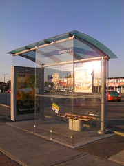 Lawrence New-Neo (Vic E.C.) Tags: street toronto bus public booth furniture ttc transit shelter streetcar commission