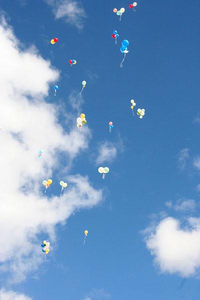 Ballonger över Segeltorp