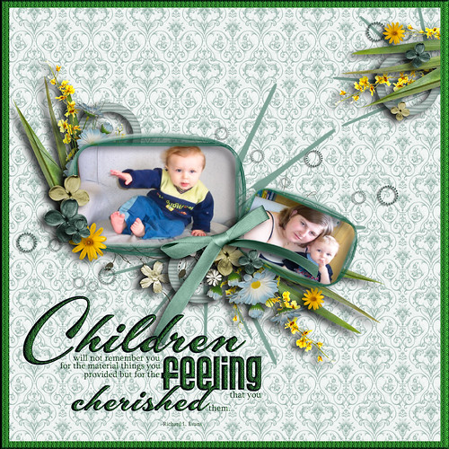 Children feeling cherished
