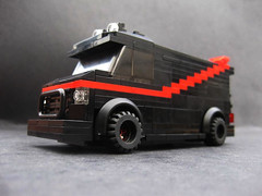 Minifigure scale - the A-Team van