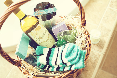 Unwind with conundrum wine relaxation basket
