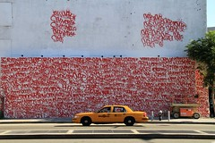 twist | amaze (Luna Park) Tags: nyc red ny newyork wall mural manhattan cab taxi houston twist tags barrymcgee lunapark amaze