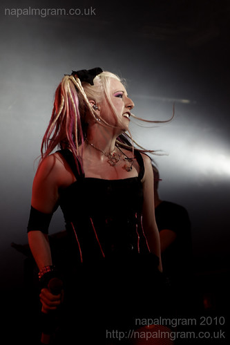 Ayria performing at Infest 2010
