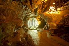 Dan-yr-Ogof onion (- Hob -) Tags: longexposure lightpainting wales raw cave cymry p14 lapp abertawe singleexposure danyrogof lightjunkies lightartperformancephotography wotididonmyhols