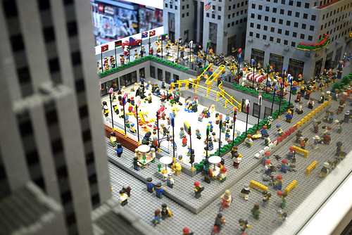 Lego shop, New York, august 2010