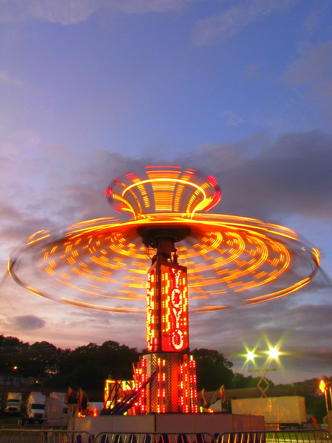 09 TN State Fair #183: The Yoyo at dusk