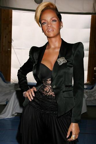 Rihanna's  wax figure