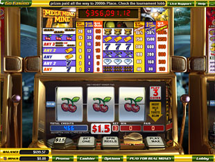 Mega Money Mine slot game online review