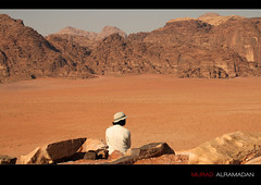 Valley of the Moon (Murad Al Ramadan) Tags: moon sahara canon eos view desert wadirum middleeast kingdom jordan valley arabia rum wadi canyons moutains valleyofthemoon hajar hashemitekingdomofjordan  50d kingdomofjordan mywinners