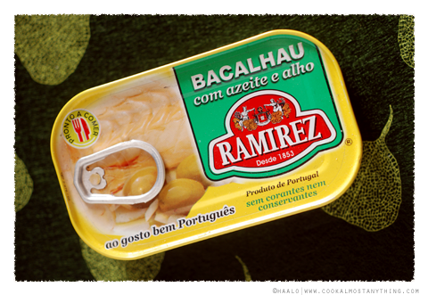canned baccalà© by Haalo