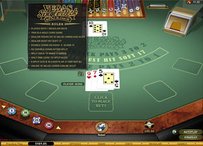 Vegas Single Deck Blackjack Gold Rules