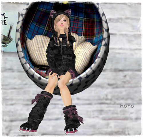 ::::izm.room wear@cat holic good bye gift BOX