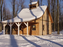 Canadian Maple Sugar Shack