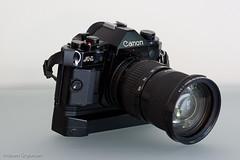 Canon A-1 w/ FD 35-105mm f/3.5 & Winder A2 (Abram Goglanian) Tags: classic canon vintagecamera a1 filmcamera fd cameraporn gearporn f35 filmphotography 35105mm